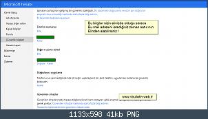 Resmi gerçek boyutunda görmek için tıklayın.  Resmin ismi:  Güvenlik bilgileriniz hesabınızı korur' - account_live_com_proofs_Manage.png Görüntüleme: 66 Büyüklüğü:  41.4 KB (Kilobyte)
