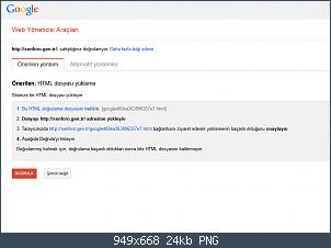 Resmi gerçek boyutunda görmek için tıklayın.  Resmin ismi:  FireShot Screen Capture #026 - 'Web Yöneticisi Araçları - Sahip olunduğunu doğrula' - www_google.png Görüntüleme: 6 Büyüklüğü:  23.6 KB (Kilobyte)