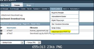 Resmi gerçek boyutunda görmek için tıklayın.  Resmin ismi:  download_log_takip.PNG Görüntüleme: 62 Büyüklüğü:  23.4 KB (Kilobyte)