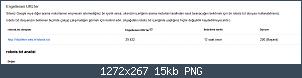 Resmi gerçek boyutunda görmek için tıklayın.  Resmin ismi:  robots_txt_google.PNG Görüntüleme: 132 Büyüklüğü:  14.8 KB (Kilobyte)