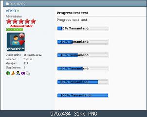 Resmi gerçek boyutunda görmek için tıklayın.  Resmin ismi:  Progress test test' - vbulletin4demo_vbulletin_web_tr_showthread_php_t=118&p=159&styleid=3#post1.png Görüntüleme: 5 Büyüklüğü:  31.2 KB (Kilobyte)